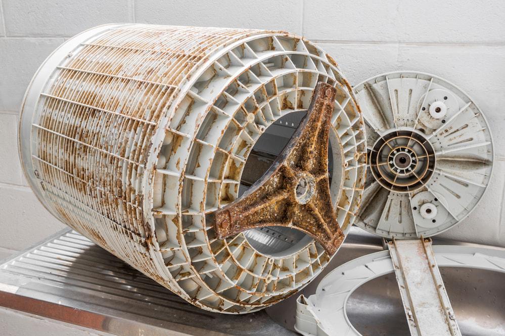 Как почистить барабан стиральной машины от накипи?